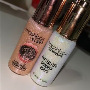 2 smashbox shimmer drops never used